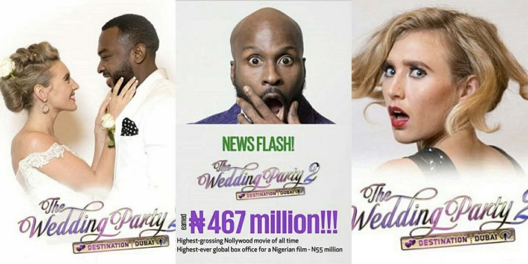 The Wedding Party 2 – 467 Million Naira Worldwide!